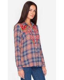 3J Workshop by Johnny Was Women's Multi Asilah Button Back Shirt, , hi-res