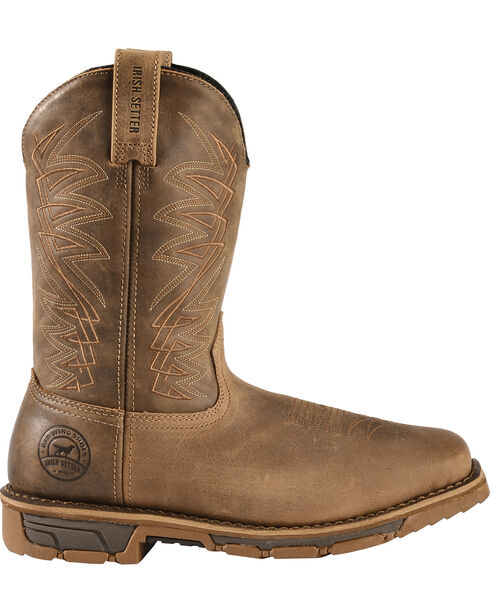 Irish Setter by Red Wing Shoes Men's Distressed Brown Marshall Work Boots - Soft Square Toe , Brown, hi-res