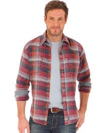 Wrangler Retro Men's Long Sleeve Two Needle Topstitch Shirt, , hi-res