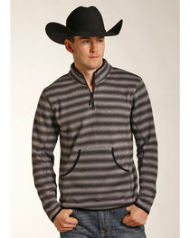 Powder River Outfitters Men's Ombre 1/4 Zip Pullover, , hi-res