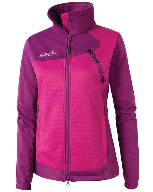 Mountain Horse Women's Cortina Softshell Jacket, Purple, hi-res