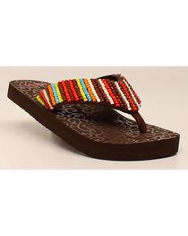 Blazin Roxx Marlee Women's Flip Flops, , hi-res