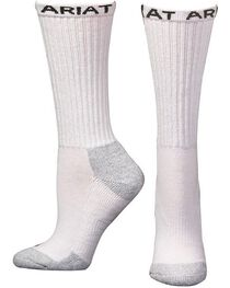 Ariat Men's Crew Socks - 6 Pack, , hi-res