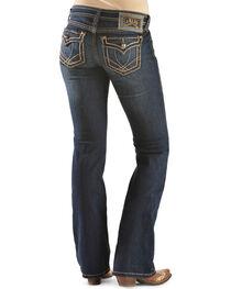 Ariat Women's Ruby Runaway Flap Boot Cut Jeans, , hi-res