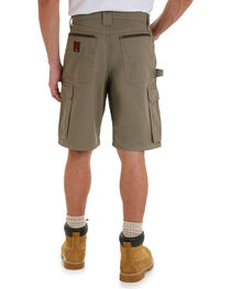 Wrangler Men's Bark Riggs Workwear Ripstop Ranger Shorts , , hi-res