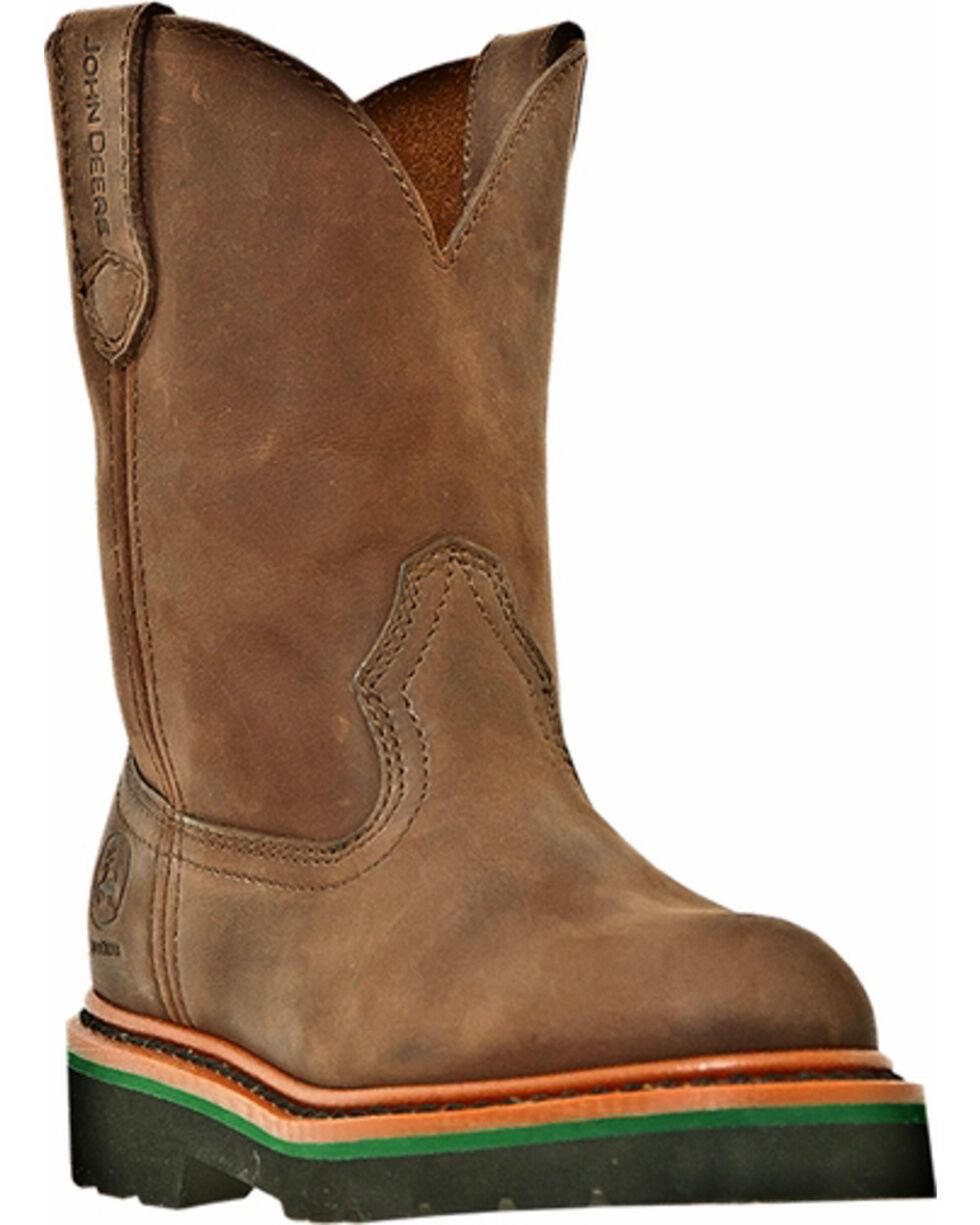 John Deere® Children's Johnny Popper™ Western Boots, Gaucho, hi-res