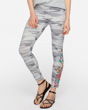 Johnny Was Women's Cortez Leggings , Camouflage, hi-res