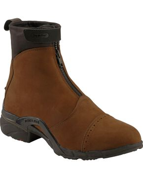 Tony Lama Women's Waterproof Paddock Boots, Tan, hi-res