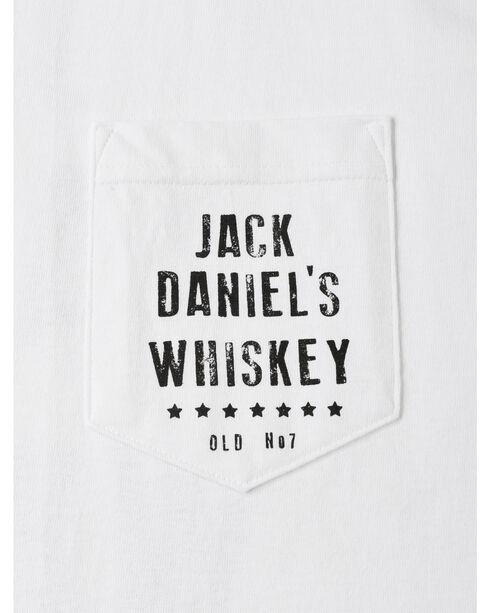 Jack Daniel's Men's Vintage Whiskey Short Sleeve T-Shirt, White, hi-res