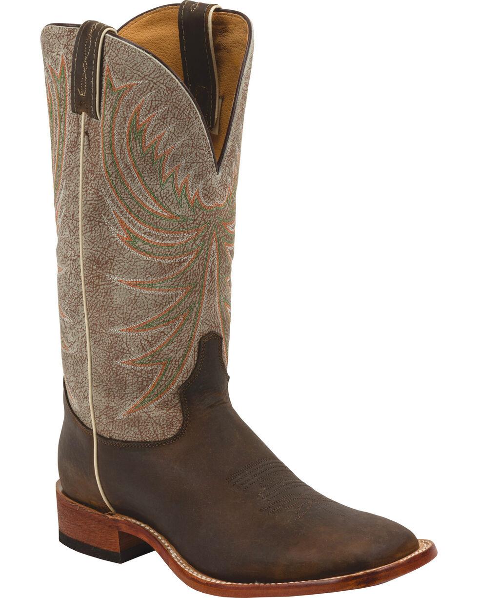 Tony Lama Men's Roughrider Americana Western Boots, Cognac, hi-res