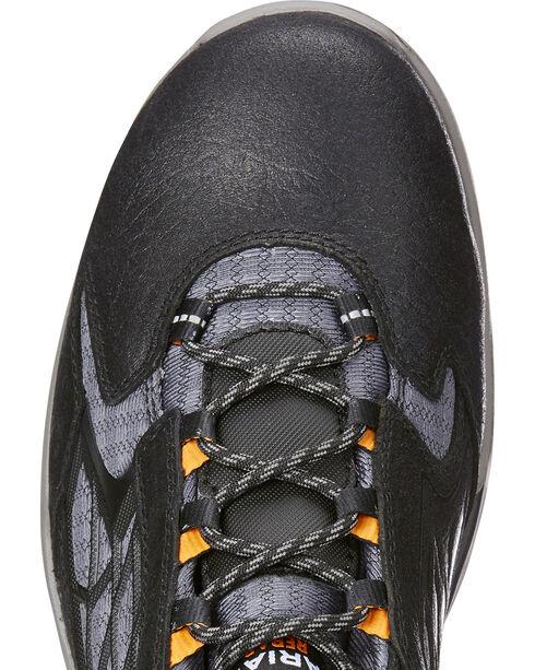 Ariat Men's Black Rebar Flex Work Shoes - Composite Toe , Black, hi-res