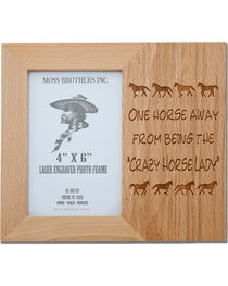 Moss Brothers Crazy Horse Lady Picture Frame, , hi-res