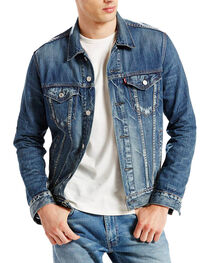 Levi's Men's Danica Trucker Jacket, Denim, hi-res
