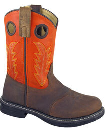 Smoky Mountain Boys' Buffalo Wellington Western Boots - Round Toe, , hi-res