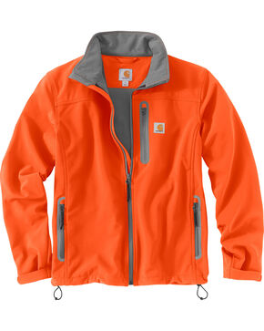 Carhartt Men's Denwood Jacket - Big & Tall , Orange, hi-res