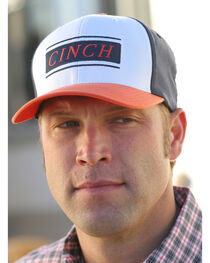 Cinch Men's Mid-Profile FlexFit Baseball Cap , , hi-res