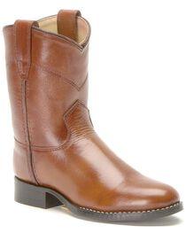 Children's Roper Cowboy Boots, Brown, hi-res