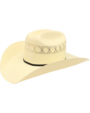 Ariat Double S 10X Straw Cowboy Hat, Natural, hi-res