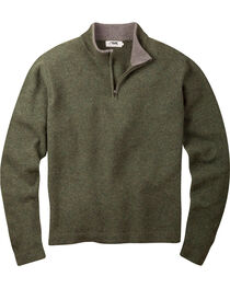Mountain Khakis Men's Mossy Green Lodge Crewneck Sweater , , hi-res
