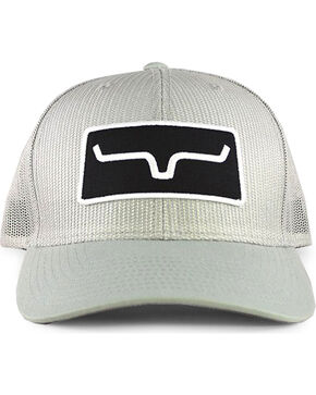 Kimes Ranch Men's Black All Mesh Trucker Cap, Silver, hi-res