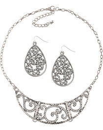 Shyanne® Women's Swirl Jewelry Set, , hi-res