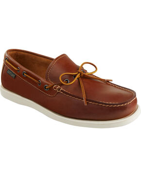 Eastland Men's Peanut Yarmouth Camp Moc Slip On, Pecan, hi-res