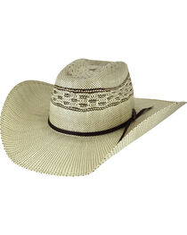Bailey Men's Shandrach Straw Western Hat, , hi-res