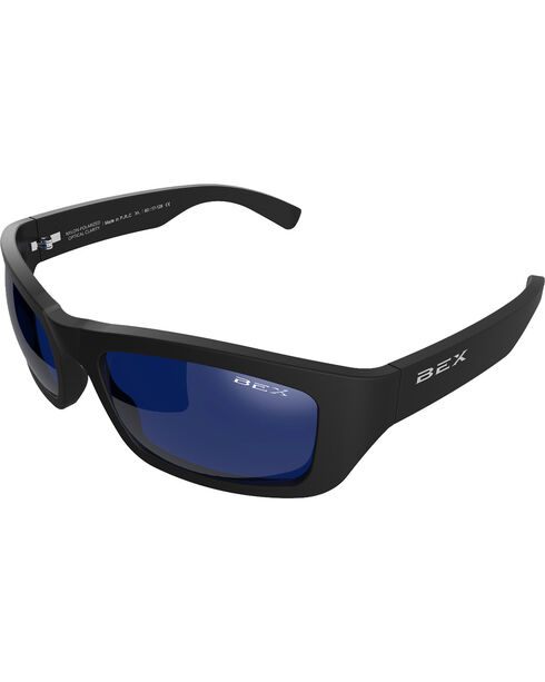 Bex Men's Ghavert Polarized Black/Blue/Green Sunglasses, Green, hi-res