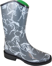 Smoky Mountain Women's Ozarka Casual Rain Boots, , hi-res