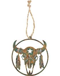 BB Ranch Laser Cut Skull Ornament, , hi-res