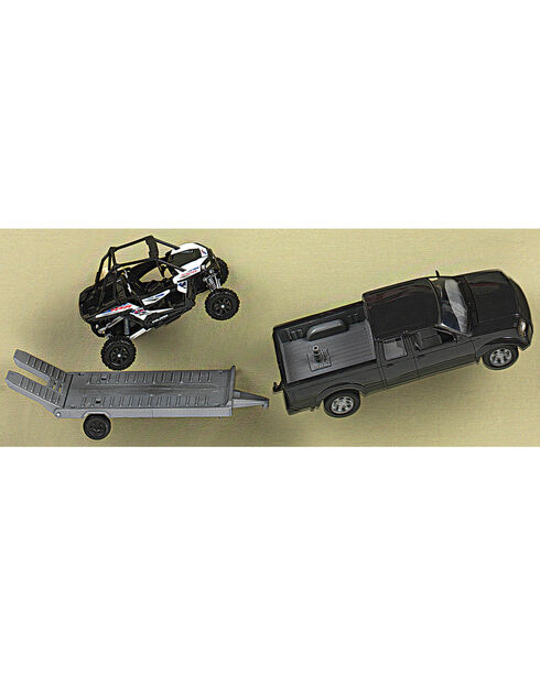 Little Outlaw Boys' Puck Up Truck Trailer Toys , Multi, hi-res