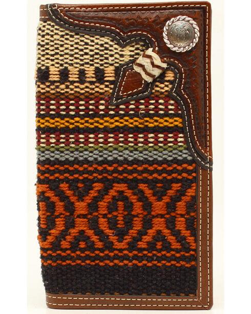 Nocona Fabric Rawhide Knot Concho Rodeo, Multi, hi-res