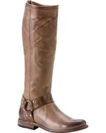 Frye Women's Phillip Harness Riding Boots - Round Toe, , hi-res