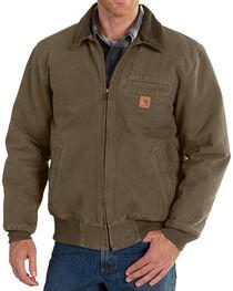 Carhartt Men's Light Brown Bankston Jacket - Big & Tall, , hi-res