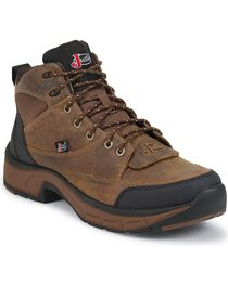Justin Men's Stampede Waterproof Casual Boots, , hi-res