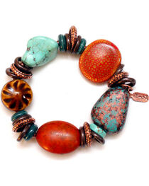Treska Women's Santa Fe Beaded Bracelet , , hi-res