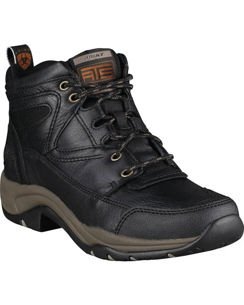 Ariat Women's Terrain Hiking Endurance Boots, Black, hi-res