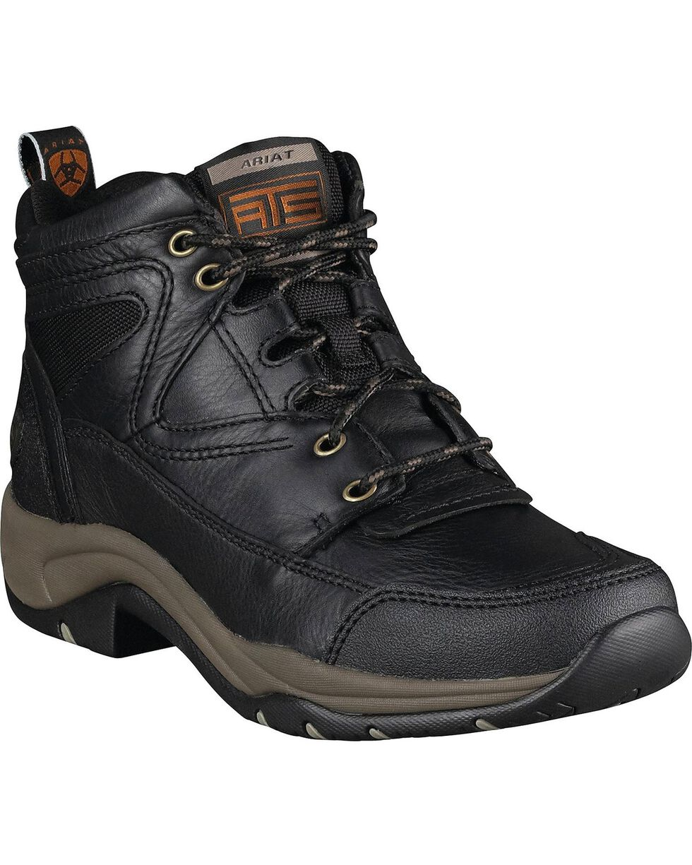 Ariat Women's Terrain Hiking Endurance Boots, Black, hi-res