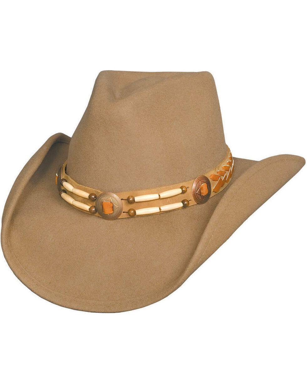 Bullhide Men's Shawnee Wool Hat, Camel, hi-res