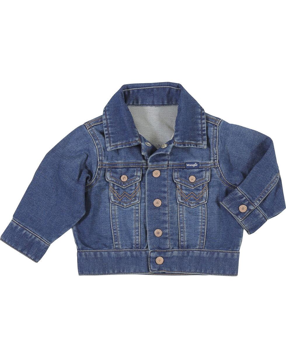 Wrangler Toddler Boys' Indigo Classic Denim Jacket , Indigo, hi-res