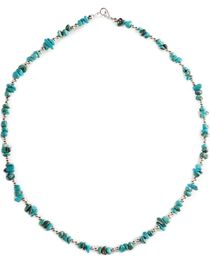 Turquoise Nugget Necklace, , hi-res