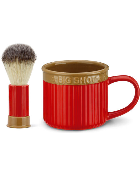 Big Sky Carvers Shot Shell Shaving Set, Red, hi-res