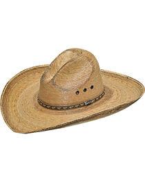 Twister Men's Dark Brown Fired Palm Gus Hat , , hi-res