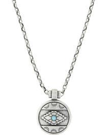 Montana Silversmiths Women's Silver Aztec Eyes Necklace , , hi-res
