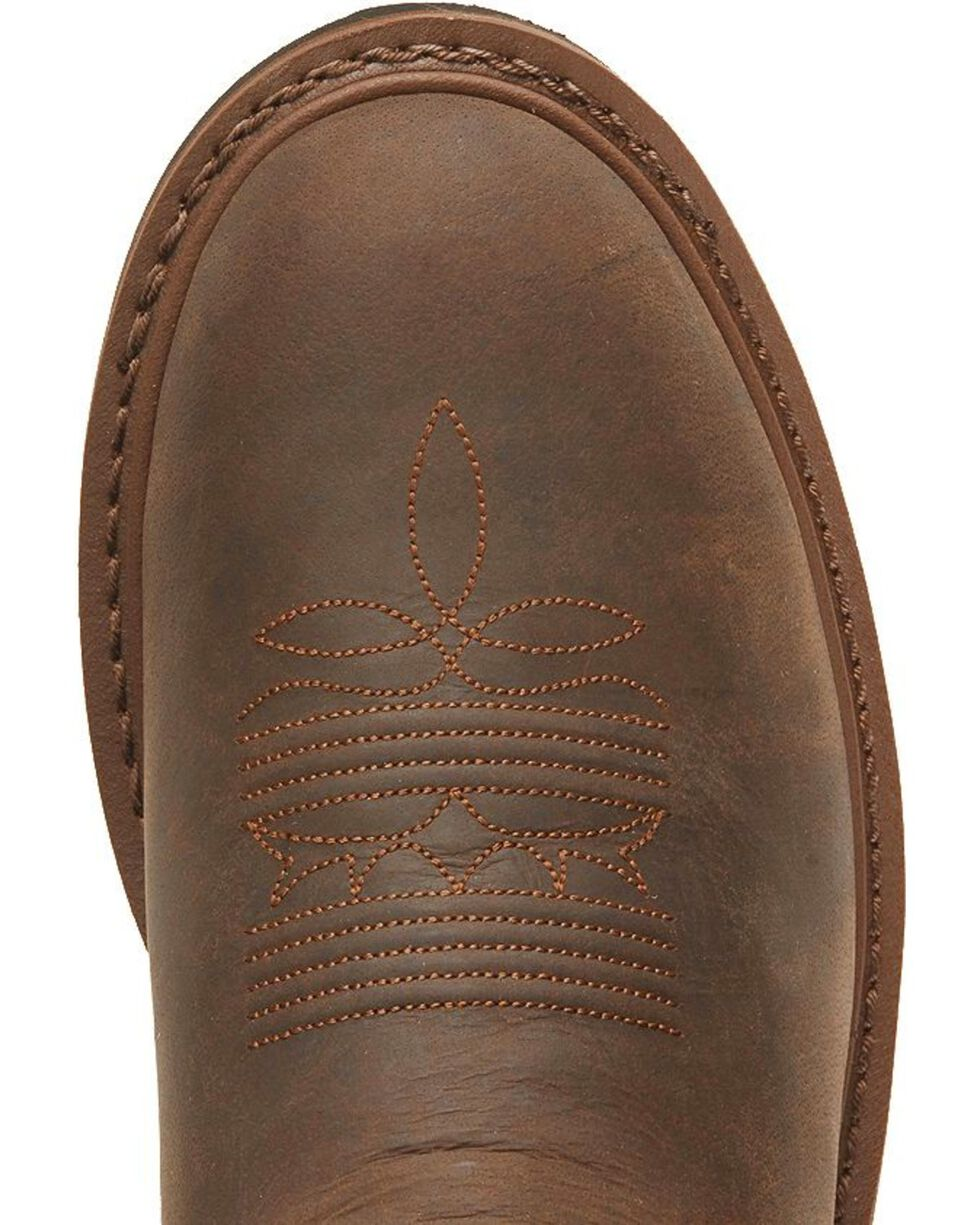 Tony Lama Men's Signature Western Work Boots, Brown, hi-res