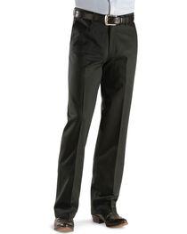 Wrangler Men's Riata Flat Front Relaxed Fit Pants, , hi-res