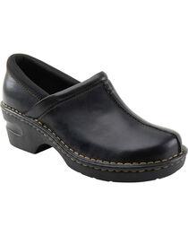 Eastland Women's Black Kelsey Slip On Clogs , , hi-res