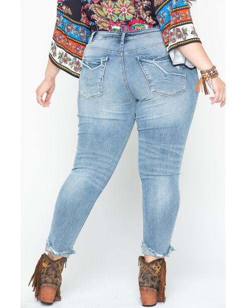 Silver Jeans Women's Kenni Boyfriend Jean - Plus Size, Indigo, hi-res