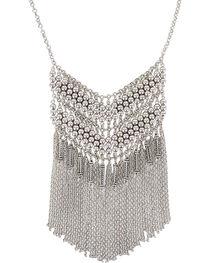 Shyanne® Women's Fringe Chevron Necklace, , hi-res