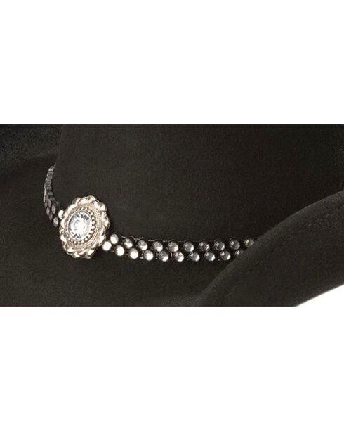 Bullhide Women's Snowflake Wool Hat, Black, hi-res